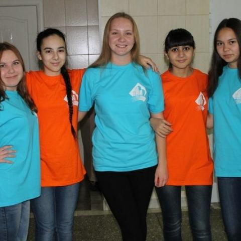 Наши волонтеры.