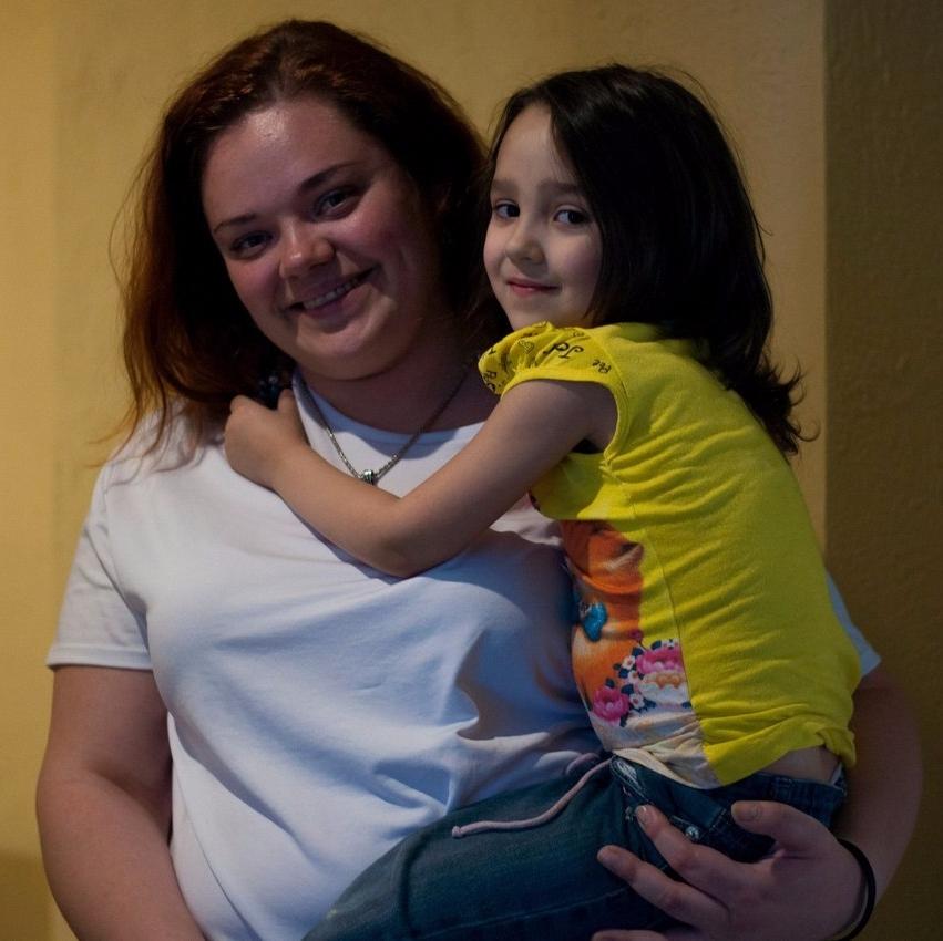 Моя дочь выздоровела от рака!