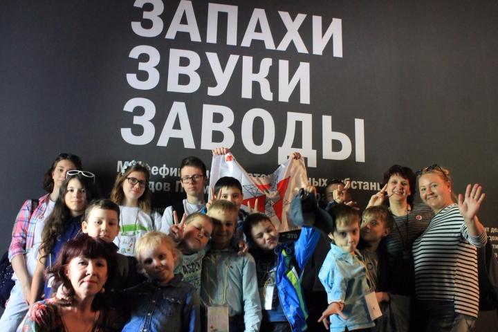 Выздоровевшие дети отправились в Арт-экспедицию