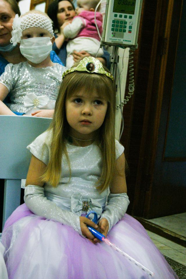 Ёлка для ребят - пациентов онкоцентра!